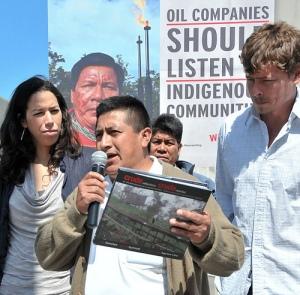 Speaking out against Chevron in Ecuador
