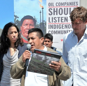 Speaking out against Chevron in Ecuador