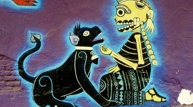 Street art in Oaxaca: the pulse of the people
