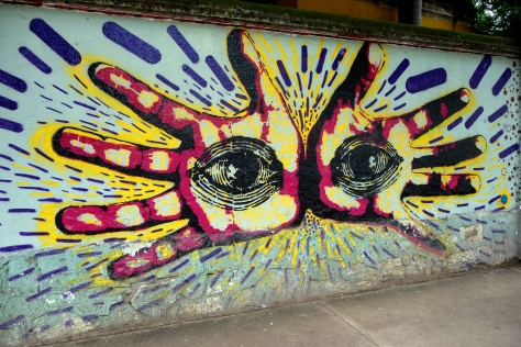 Street art Oaxaca Mexico