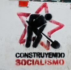 Graffiti from the streets of Venezuela. Photo courtesy of ronbrinkmann.
