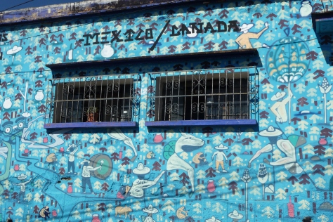 Mural unveiled in Oaxaca