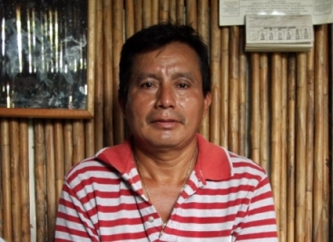 Adolfo Ich Chaman, an anti-mining activist who was hacked with a machete before being fatally shot in the neck in September 2009. The attack was allegedly carries out by security staff at Hudbay's Fenix mine in Guatemala. Ich's widow Angelica Choc has brought the case against Hudbay Minerals on her husbands behalf