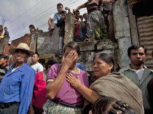 The brutal murder of 11 residents shocks the community of San José Nacahuil. Photo by Saul Martinez.