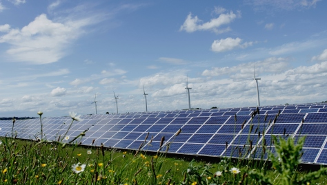 Westmill solar panels occupy an old World War II airstrip, so do not take up fertile land