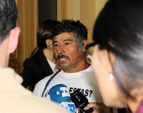 Parent of missing Ayotzinapa student at UN in Geneva