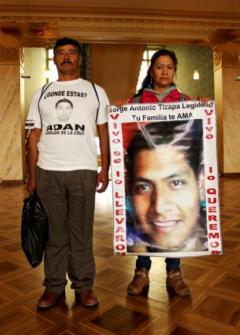 Parents of missing Ayotzinapa students UN Geneva