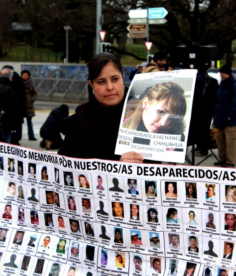 Parent of missing Mexican youth at UN Geneva