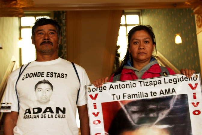 Parents of missing Mexican students demand action at UN