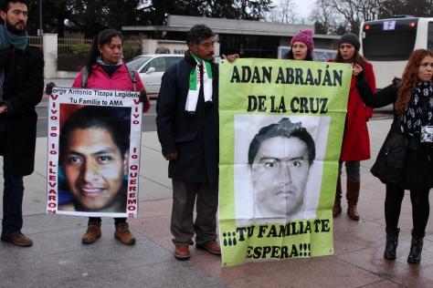 Ayotzinapa protest Geneva